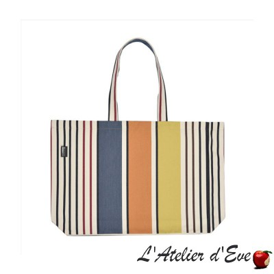 """Gouts"" Sac shopping tote bag cabas Artiga Fabriqué en France"