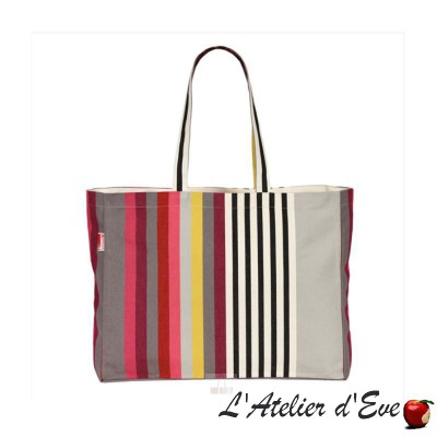 """Larrau"" Sac shopping tote bag cabas Artiga Fabriqué en France"