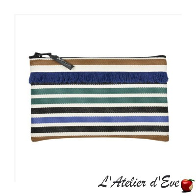 """Lacquy"" Artiga fringed case Made in France"