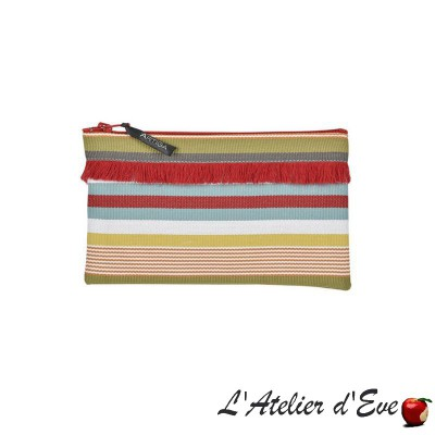 """Garazi"" Artiga fringed case Made in France"