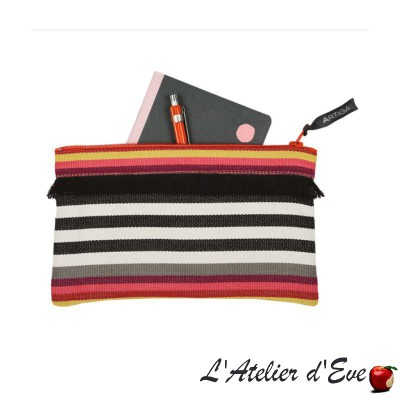 """Larrau"" Trousse à franges Artiga Made in France"