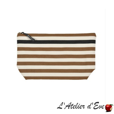 """Lacquy vison"" Artiga toiletry bag Made in France"