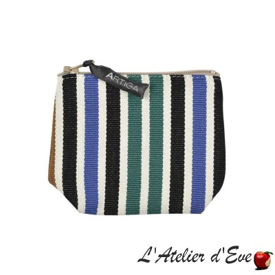 """Lacquy multi"" Porte-monnaie Artiga Made in France"