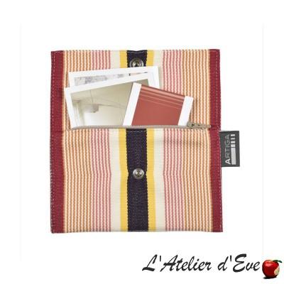 """""""Garlin ocher"""" Artiga Made in France purse"""