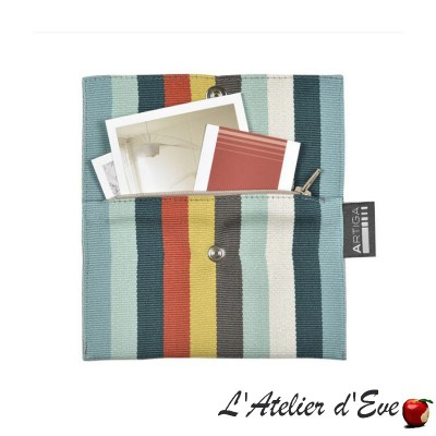 """Mauleon"" Porte-feuille Le Pratic Artiga Made in France"