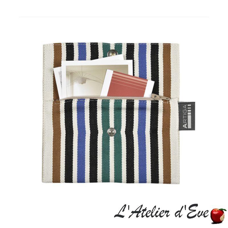 """Lacquy"" Porte-feuille Le Pratic Artiga Made in France"