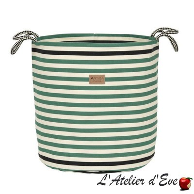 """Lacquy vert"" Sac Balthazar Artiga Made in France"