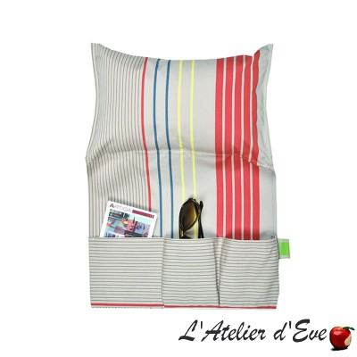 """Arctic"" Lazy cushion Made in France Artiga"