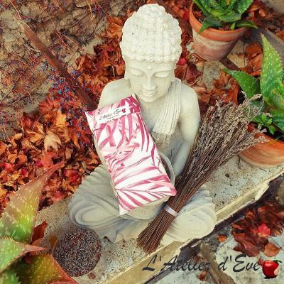 """Relaxing eye pillow """"Hanoi"""" Made in France L'Atelier d'Eve"""