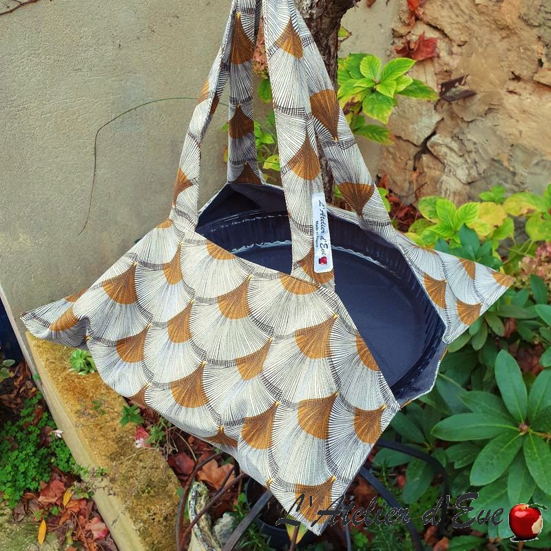 """Maryse"" tart bag Made in France L'Atelier d'Eve"