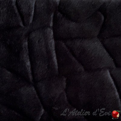 """Cristal"" Faux fur fabric, Thevenon furniture"