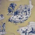 """""""Plaisirs d'hiver""""beige Coupon 200x150cm tissu ameublement Casal"""