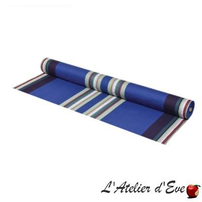 """""""Aroue"""" Toile basque coton enduit Made in France L.155cm Artiga"""