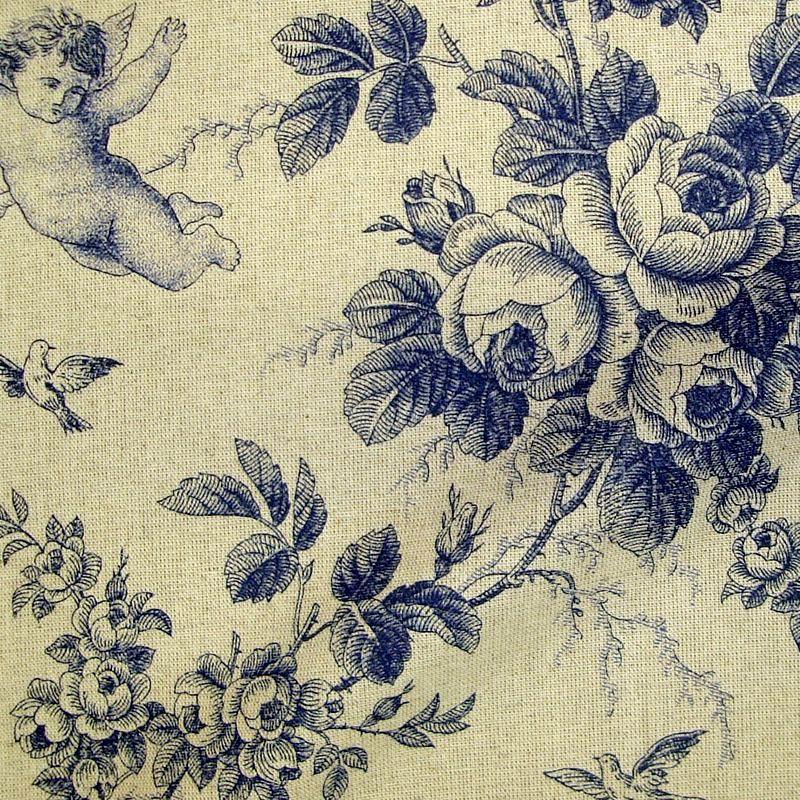 Don Quichotte 2 coloris Tissu ameublement toile de jouy grande largeur Thevenon