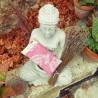 Coussin relaxant pour les yeux Venise vieux rose Made in France L'Atelier d'Eve