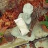 Coussin relaxant pour les yeux Venise gris Made in France L'Atelier d'Eve
