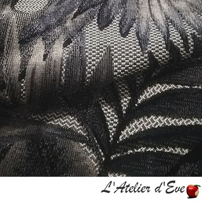 """Nakaya"" Jacquard velvet fabric Thevenon"