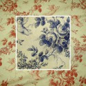 Seraphin (2 colors) fabric furnishings jouy fabric great width aspect lin Thévenon