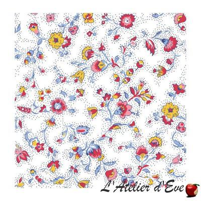 """Yellow field flowers"" 6 Provencal napkins 50x50cm cotton fabric Valdrôme"
