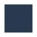 """Croquet bleu"" 6 Provencal napkins 50x50cm cotton fabric Valdrôme"