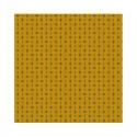 """""""Croquet jaune"""" 6 serviettes de table provençales 50x50cm tissu coton Valdrôme"""