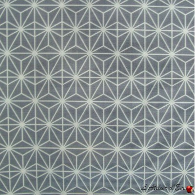"""""""Soleil d'orient"""" Coated tablecloth Made in France Thevenon"""
