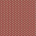 """Maillane rouge"" Tissu coton Valdrôme Fabrication française"