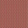 Maillane rouge Tissu coton Valdrôme Fabrication française