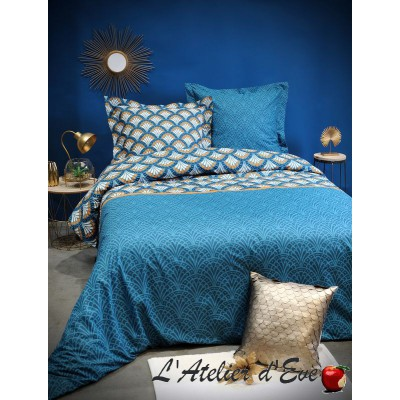 """Erwan"" Duvet cover + 2 Reversible pillowcases 65x65cm"