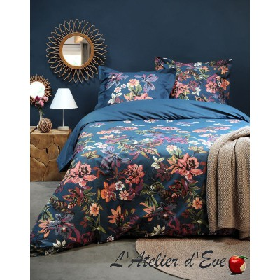 """Floralia"" Duvet cover + 2 Reversible pillowcases 65x65cm"