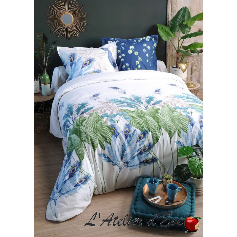 """Luxor"" Duvet cover + 2 Reversible pillowcases 65x65cm"