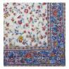 Fleurs des champs multicolore Nappes coton carrée provençal Valdrôme Made in France