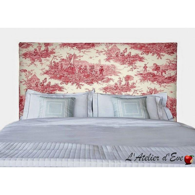 """""""Vintage"""" Tête de lit passepoilée Thevenon"""