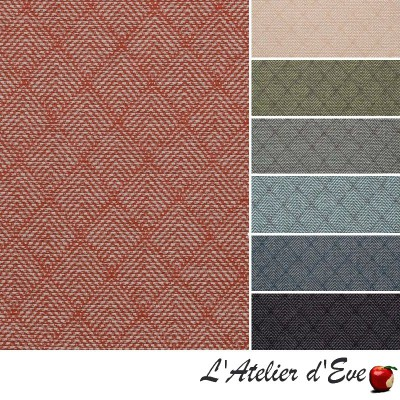 """Felix"" Jacquard fabric design furnishing Thevenon"