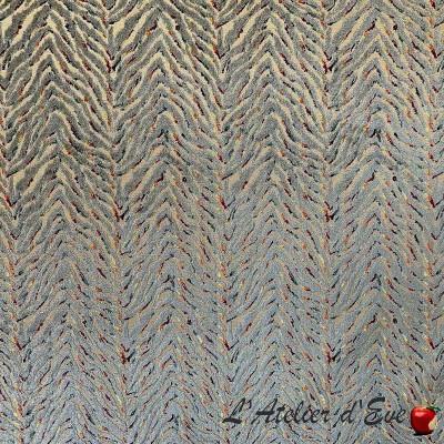 """Acapulco"" Jacquard velvet fabric Casal"