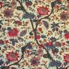 Bangalore multicolore Toile de jouy coton Patrimoine Casal