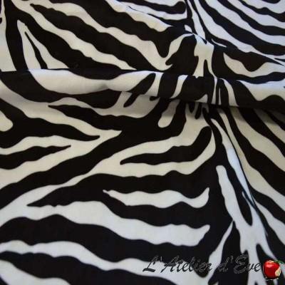 """Zebra"" Fausse fourrure Haut de gamme Casal"