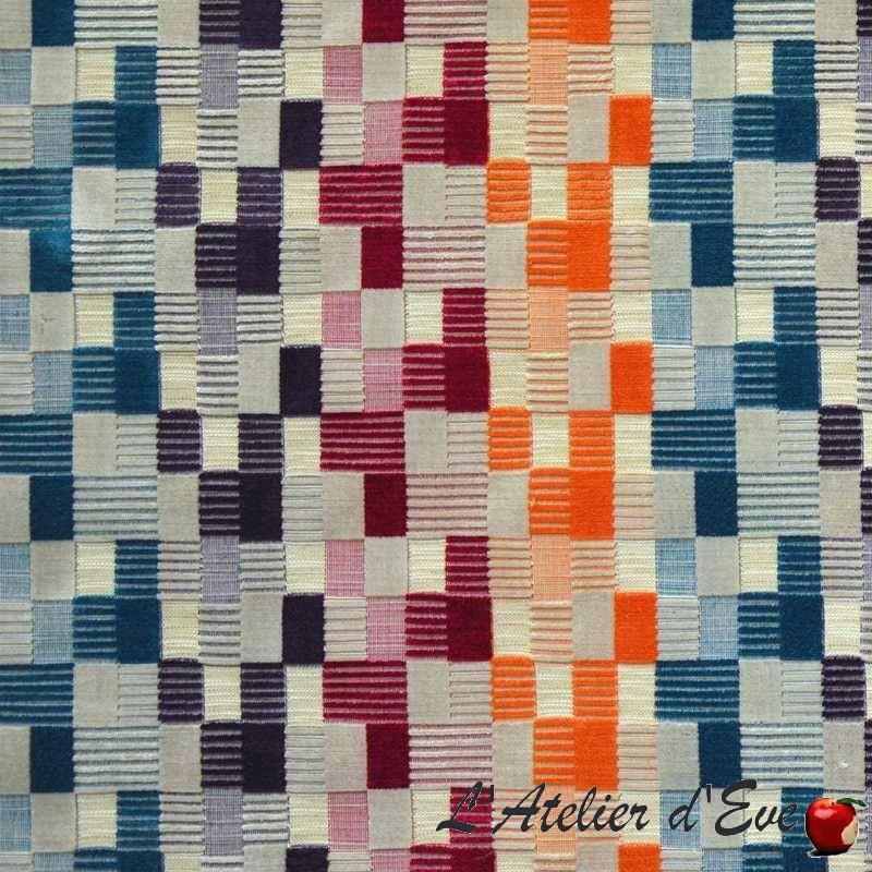"""Mercure"" multicolore Tissu jacquard fantaisie Casal"