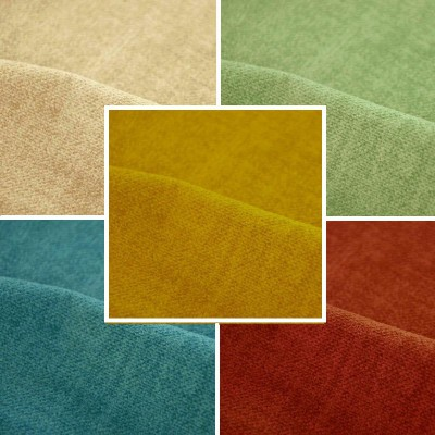Fire Amara (34 colors) fabric furnishings reversible fire m1 deals United aquaclean L.140cm Casal