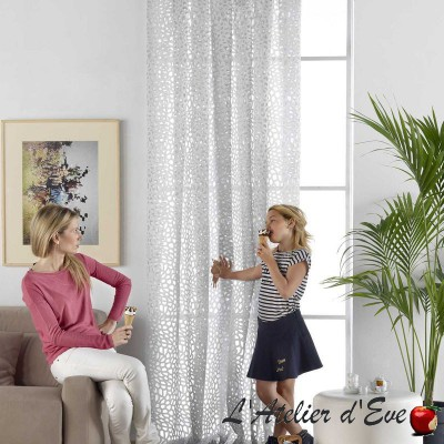 """Muceme"" Sheer curtain by the meter aquaclean Casal"