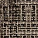 """""""Cesar"""" noir Coupon 100x140cm tissu ameublement jacquard Thevenon"""