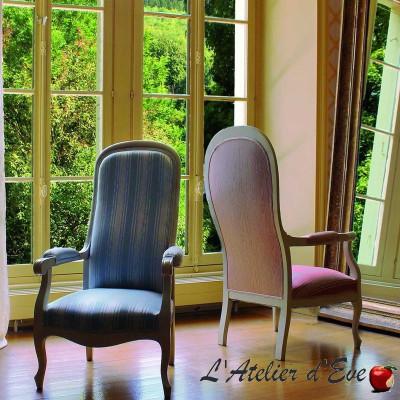 """Palatine"" Jacquard fabric baroque pattern Boudoir Casal"