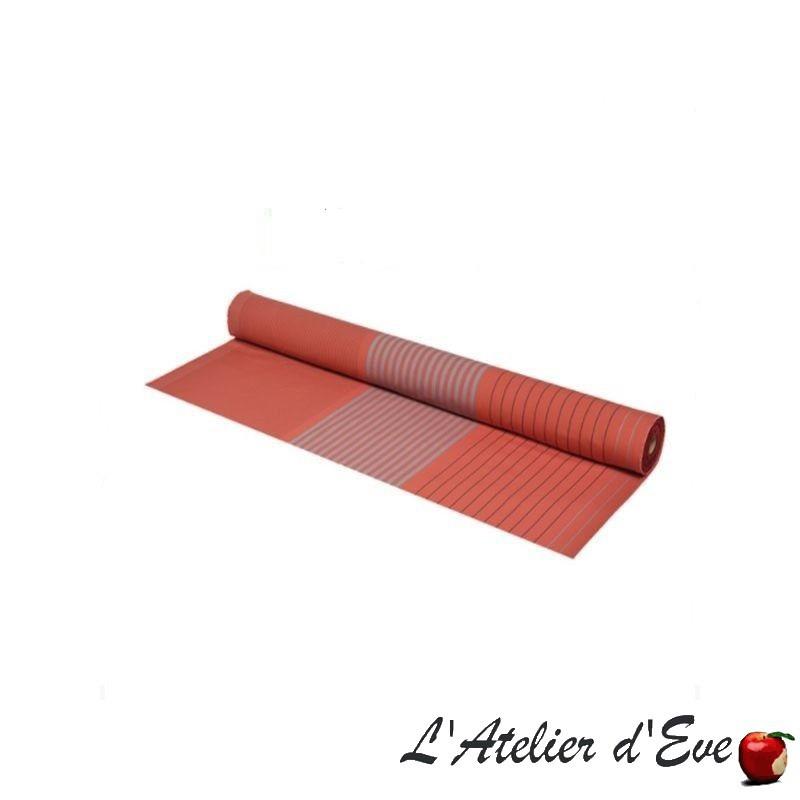 """""""Sauvelade"""" rique Toile basque coton enduit Made in France L.155cm Artiga"""