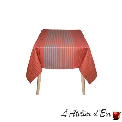"""""""Sauvelade"""" Basque coated tablecloth Made in France Artiga"""