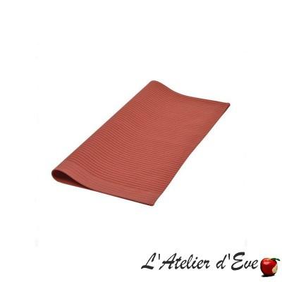 """""""Sauvelade ecru"""" Napkin cotton basque canvas Made in France 50x50cm Artiga"""