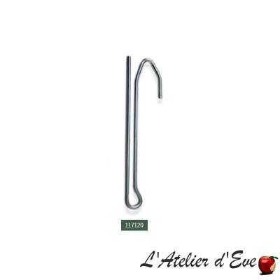 Lot 10 agrafes - 117120 / accessoires ruban fronceur rideaux