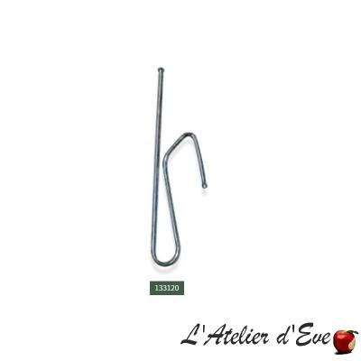 Lot 10 agrafes - 133120 / accessoires ruban fronceur rideaux
