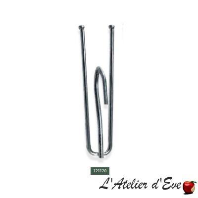 Lot 10 agrafes - 121120 / accessoires ruban fronceur rideaux