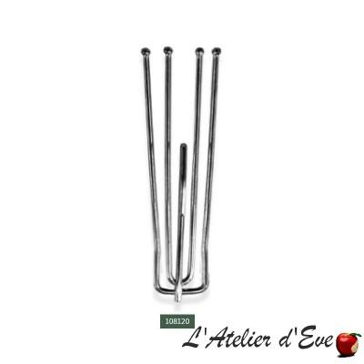 Lot 10 agrafes - 108120 / accessoires ruban fronceur rideaux