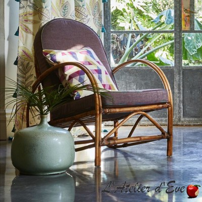 """Long Beach"" Cotton upholstery fabric Malibu Prestigious Textiles"